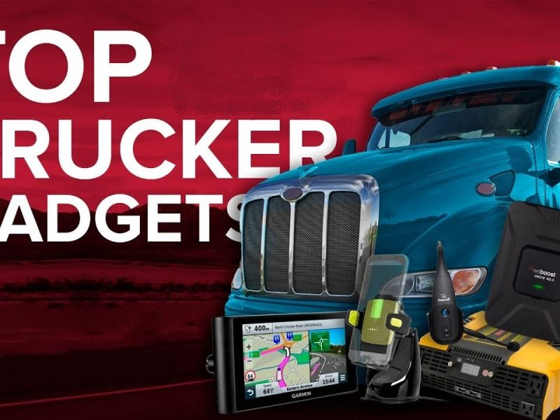 Tech Gadgets for Truck Drivers
